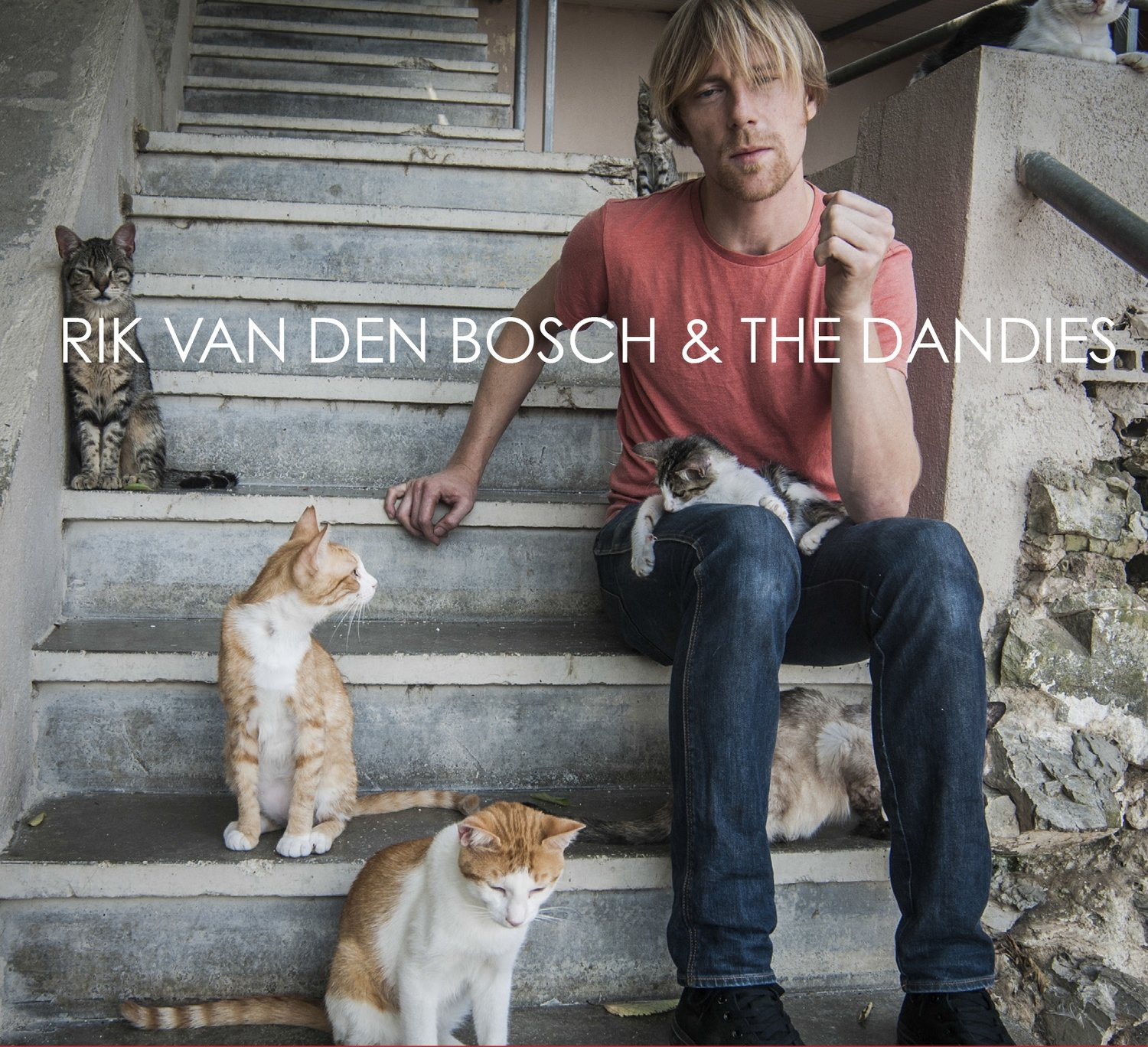 Rik van den Bosch & the Dandies, full album, on CD