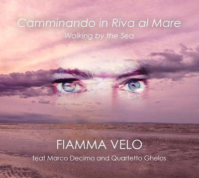 """""""Camminando in Riva al Mare"""" - Fiamma Velo - copia fisica autografata"""