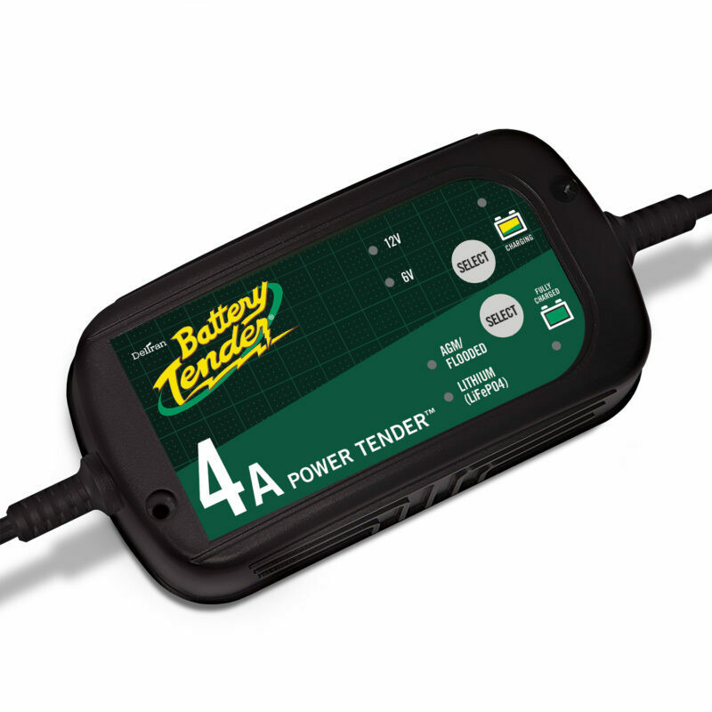 Battery Tender Battery Charger Power Tender HE Plus (6/12V 4A, +Lithium)