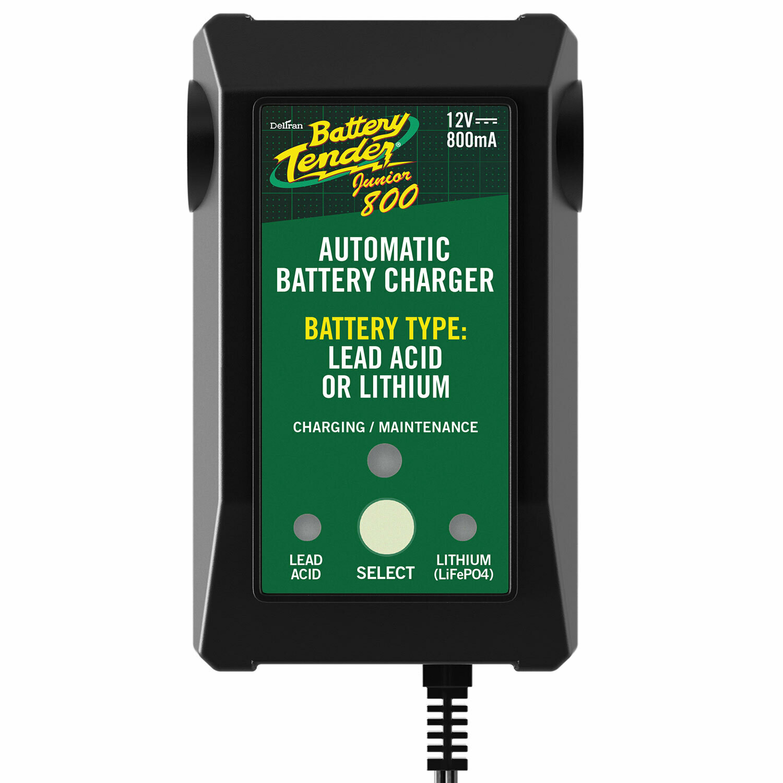 Battery Tender Battery Charger Junior 800 (12V 800mA, +Lithium)