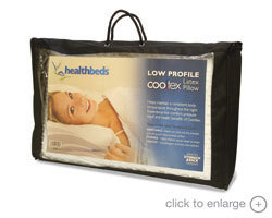Cooltex Low Profile Pillow