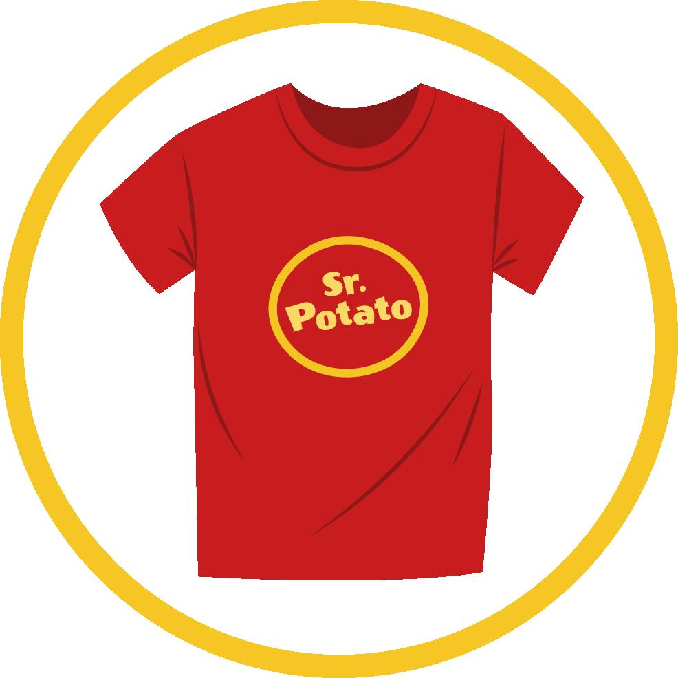 Camiseta Logo Sr. Potato