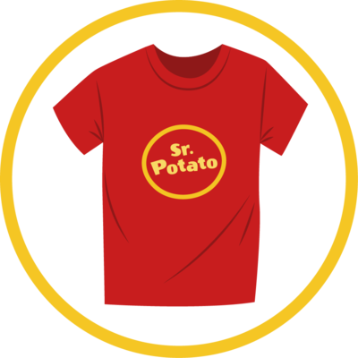 Camiseta Logo Sr. Potato