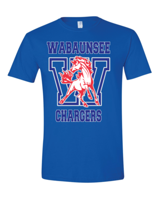Chargers Fan Shirt - Gildan - Softstyle T-Shirt