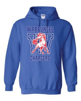 Chargers Fan Heavy Blend Hooded Sweatshirt - Gildan