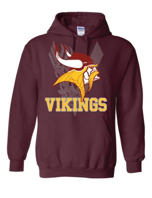 Vikings Fan Heavy Blend Hooded Sweatshirt - Gildan