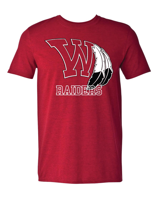 Raiders Fan Shirt - Gildan - Softstyle T-Shirt