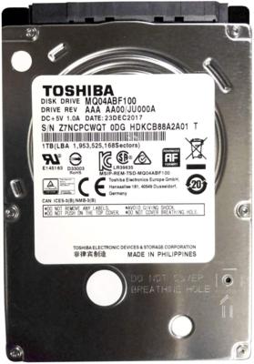 Disco Duro Toshiba MQ04 - 1 TB