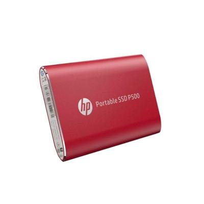 Disco Duro Solido Externo HP P500 Rojo - 250 GB