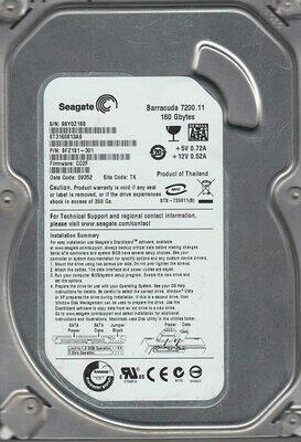 Disco Duro Pull Seagate ST3160 - 160 GB