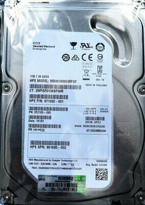 Disco Duro Servidor HP Proliant MB001 - 1 TB