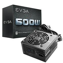 Fuente de Poder EVGA 600 W W1 ATX
