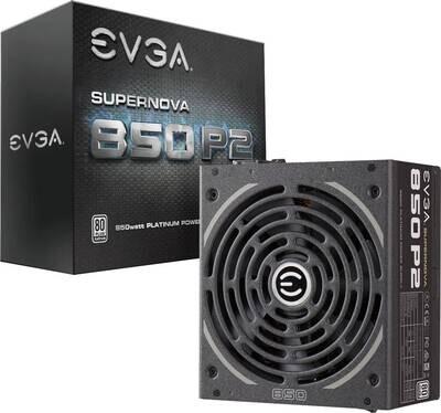 Fuente de Poder EVGA 850W P2 ATX
