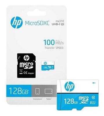 Memoria Micro SD-HP-MX330-128 GB-Clase 10-c/Adaptador