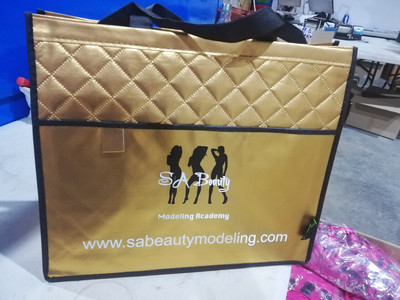 Sa beauty gold shopper Bag
