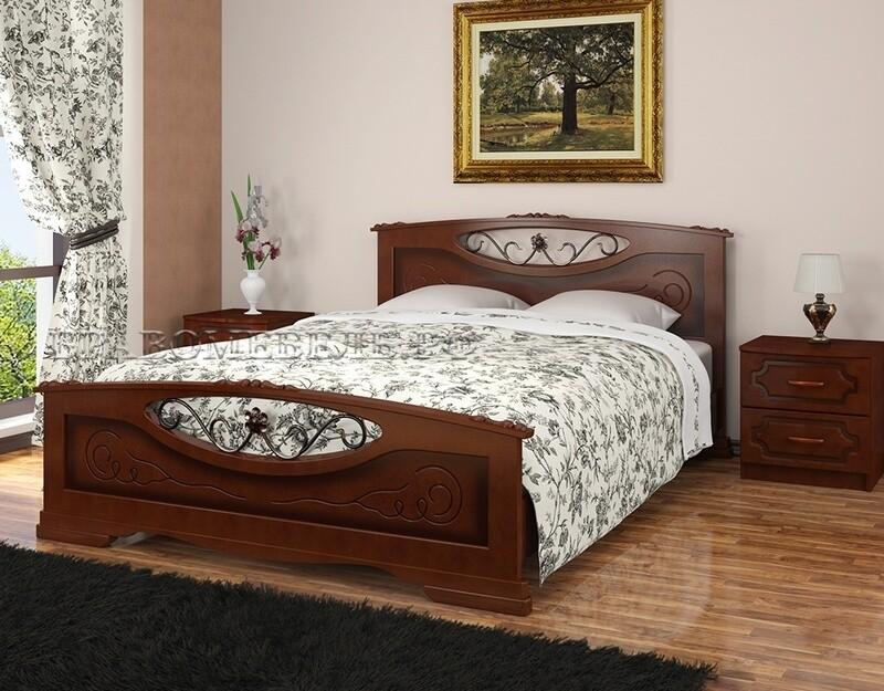 Кровать Елена-5  1200+ матрас односторонней мягкости