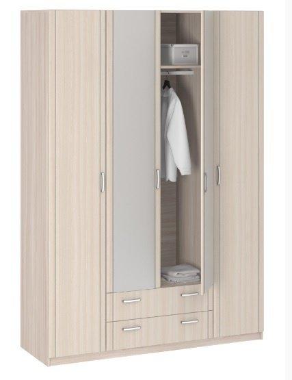 Шкаф 4-х дверный 8.041 с зеркалом