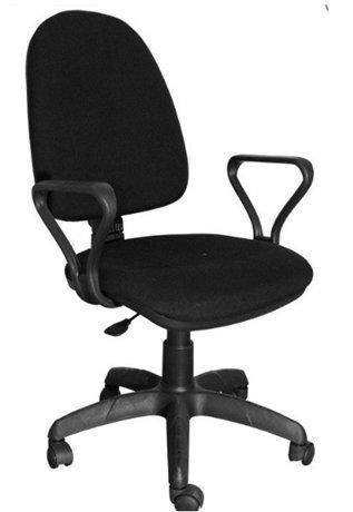 Кресло ПРЕСТИЖ компьютерное (чёрное В-14)
