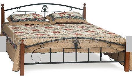 Кровать AT 203 Румба (метал. каркас) + металл. основание (160 см x 200 см)