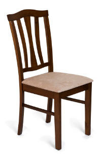 Стул с мягким сиденьем СТ 8162 (Тёмный дуб)