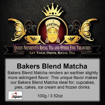BAKERS BLEND MATCHA 100G
