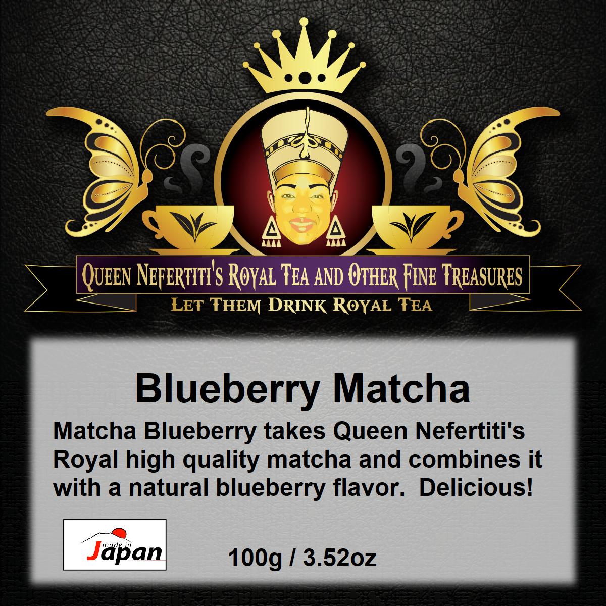 BLUEBERRY MATCHA 100G