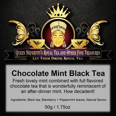 CHOCOLATE MINT BLACK TEA 50 G