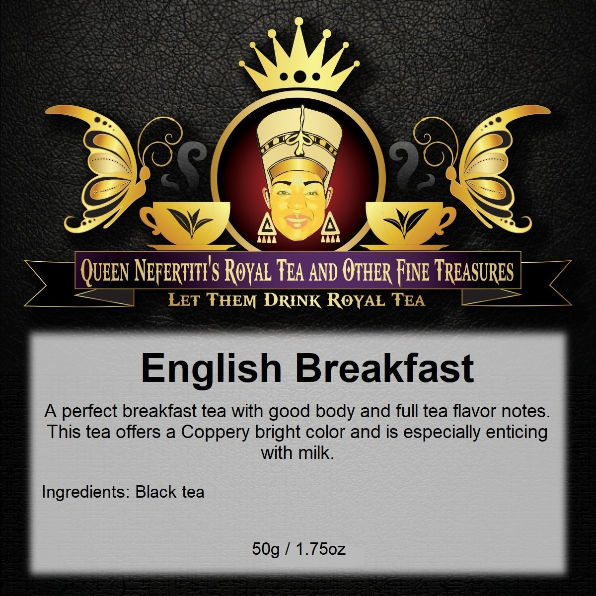 ENGLISH  BREAKFAST BLACK TEA 50 G
