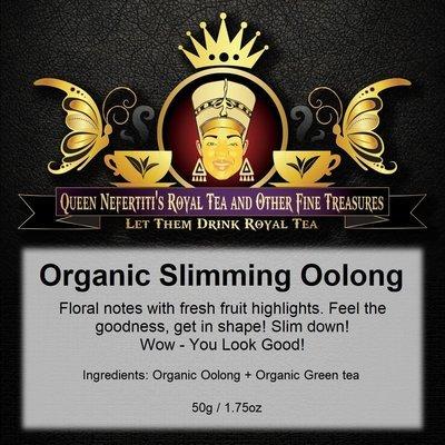 ORGANIC SLIMMING OOLONG TEA 50 G