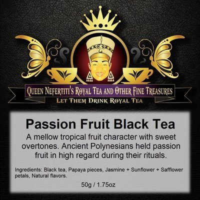 PASSION FRUIT BLACK TEA 50 G