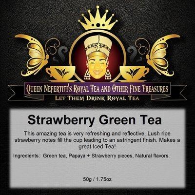 STRAWBERRY GREEN TEA 50 G