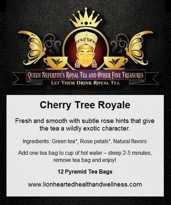 CHERRY TREE GREEN TEA (IN SACHETS)