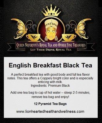 ENGLISH BREAKFAST TEA  (IN SACHETS)
