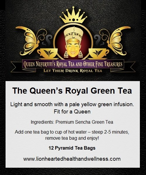 THE QUEEN'S ROYAL GREEN TEA  (IN SACHETS)