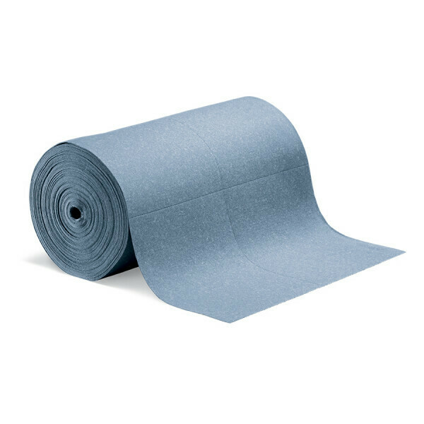 Tapis en rouleaux absorbants PIG BLUE® - Simple Épaisseur