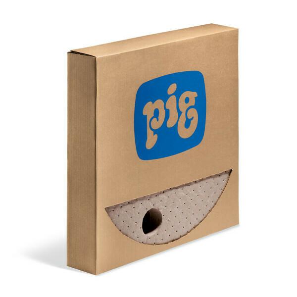 Tapis de fût PIG® Oil-Only, brun pour fûts de 210 l - Triple Épaisseur