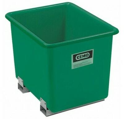 Bac rectangulaire rigide avec fourreaux de 300 à 2200 litres