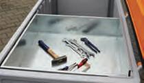 Accessoire CEMBOX 750 : Bac outillage en métal