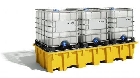 Bac de rayonnage 1650 litres