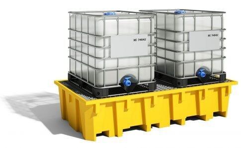 Bac de rayonnage 1330 litres