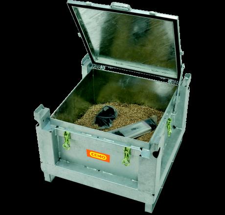 Coffre acier batteries Lithium ADR