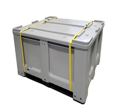 Box batteries Lithium ADR 610 avec couvercle