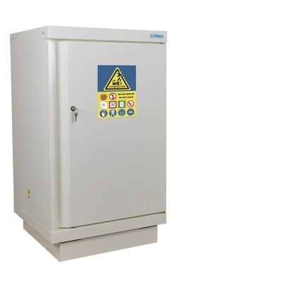 Armoire Stockage Batterie Lithium - Comptoir - 1 porte avec extincteur