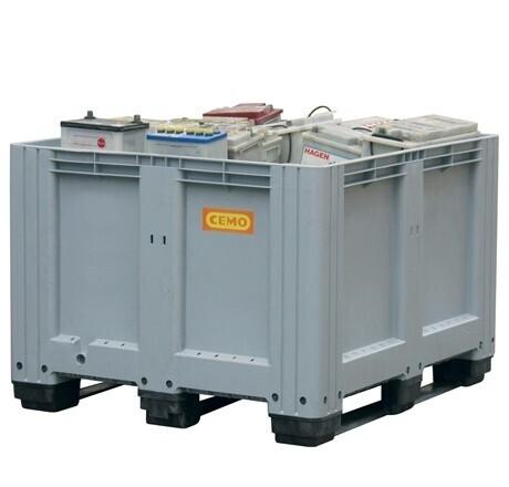 Box pour le stockage intérieur des batteries 610 L