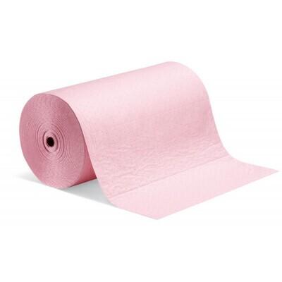 Rouleau absorbant PIG® HazMat pour liquide chimique - simple épaisseur
