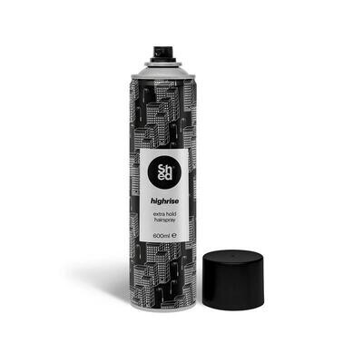 Shed HIGHRISE Extra Hold Hairspray 600ml