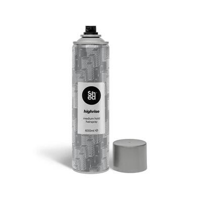 Shed HIGHRISE Medium Hold Hairspray 600ml
