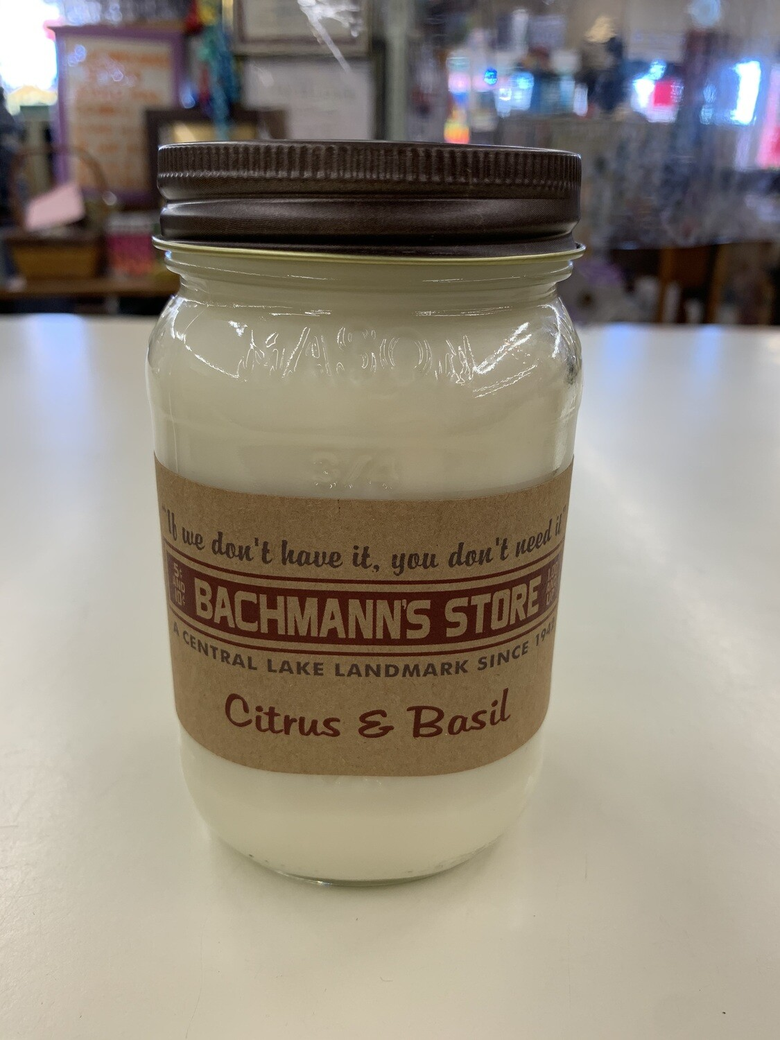 Bachmann's 16oz Candles
