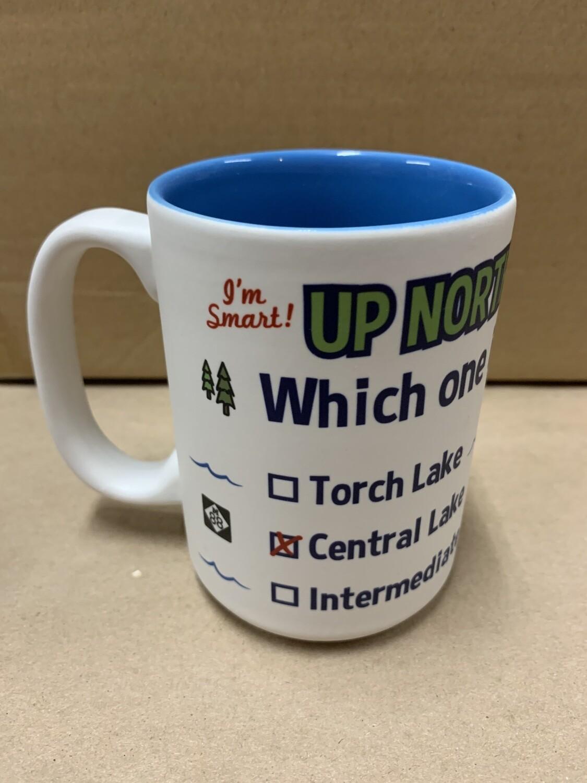 Up North IQ Test Mug