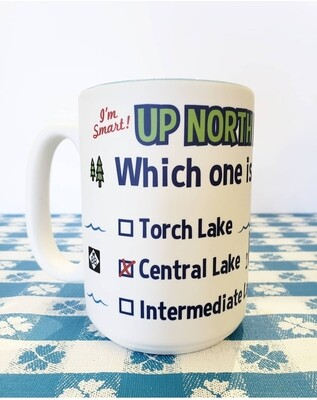 Up North IQ Test Mug